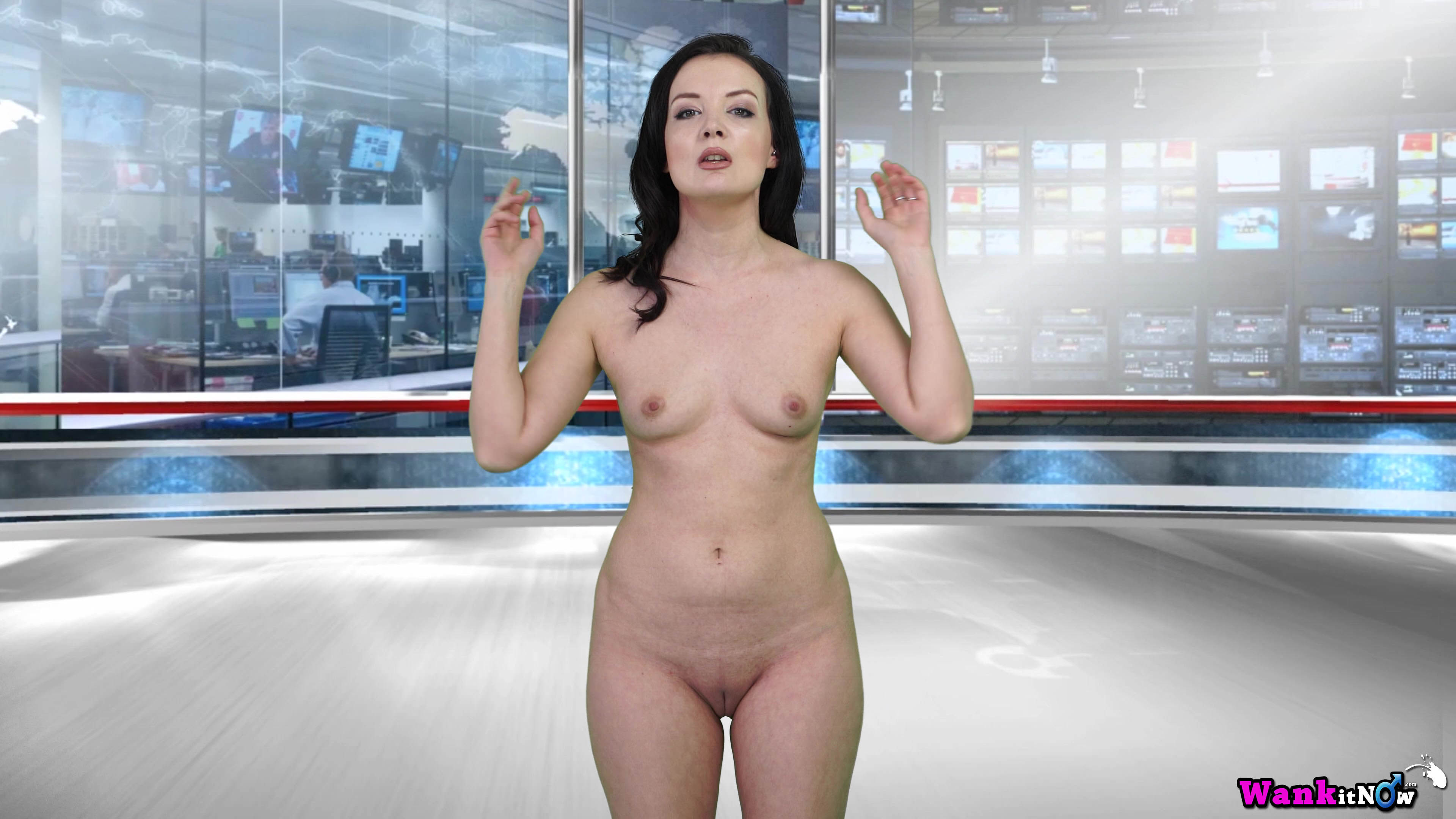 french weather girl naked