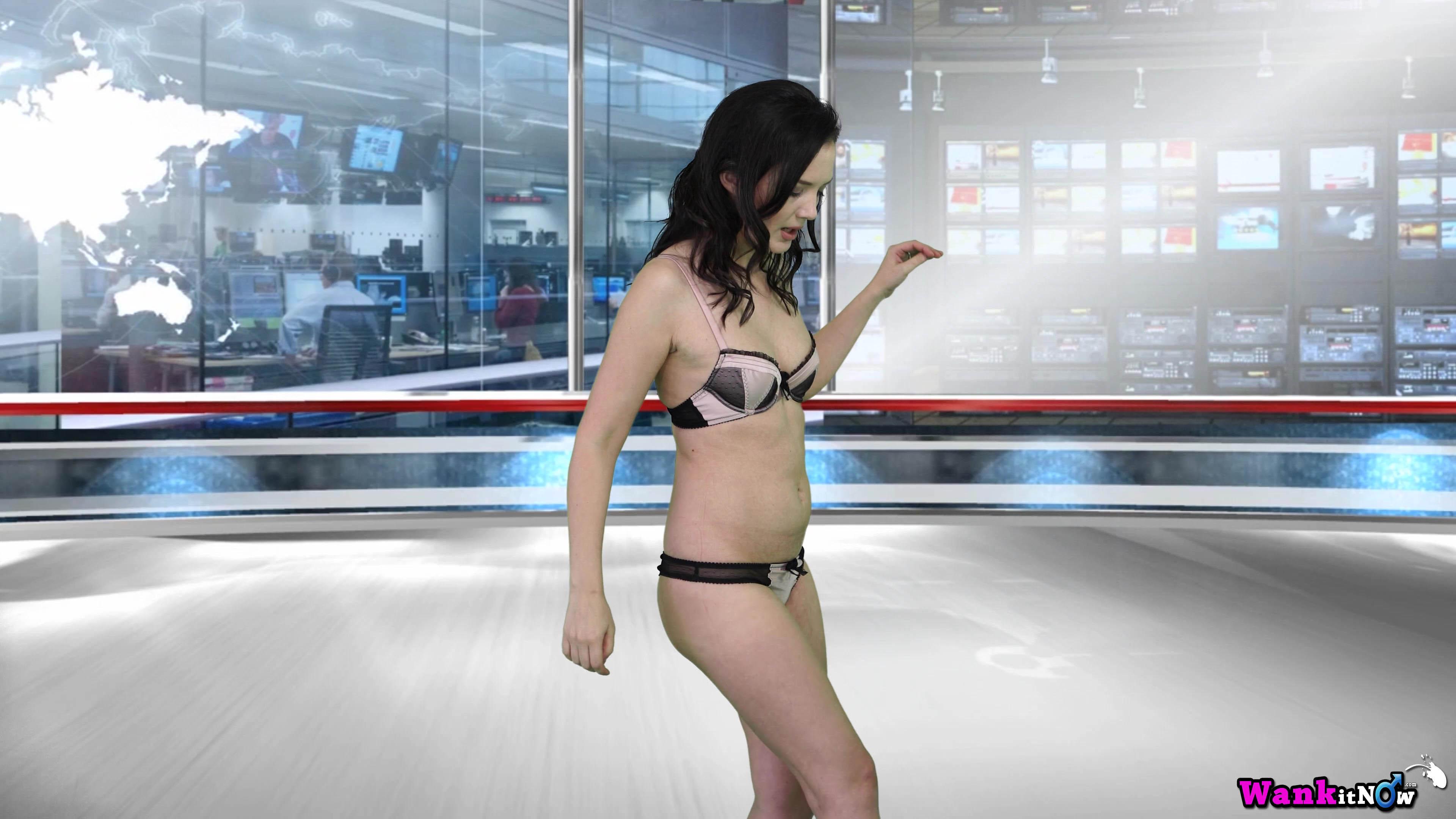 Nude girl wank news — 4